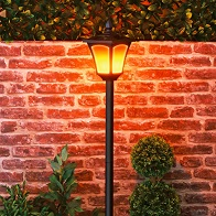 See more information about the Solar Lamp Post  Black 1.65M Tall