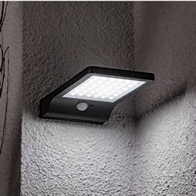 See more information about the Black Sensor Solar Wall Ultra Bight Light