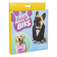 See more information about the 2 Dog Dress Up Bibs