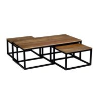 See more information about the Ravi Set of 3 Coffee Tables