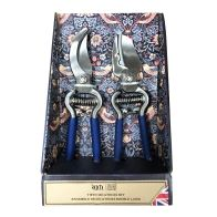 See more information about the William Morris Strawberry Thief Twin Secateurs Gift Set
