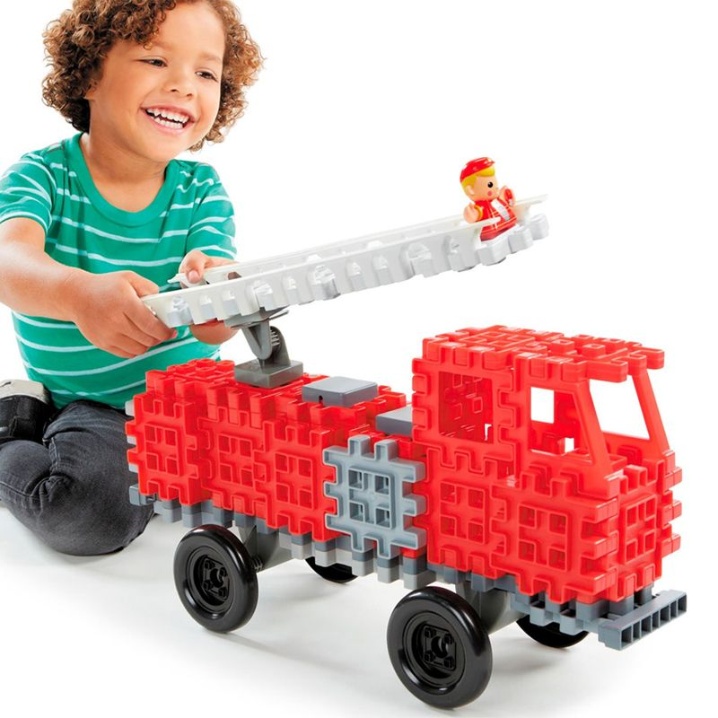 Little Tikes Waffle Blocks Fire Truck