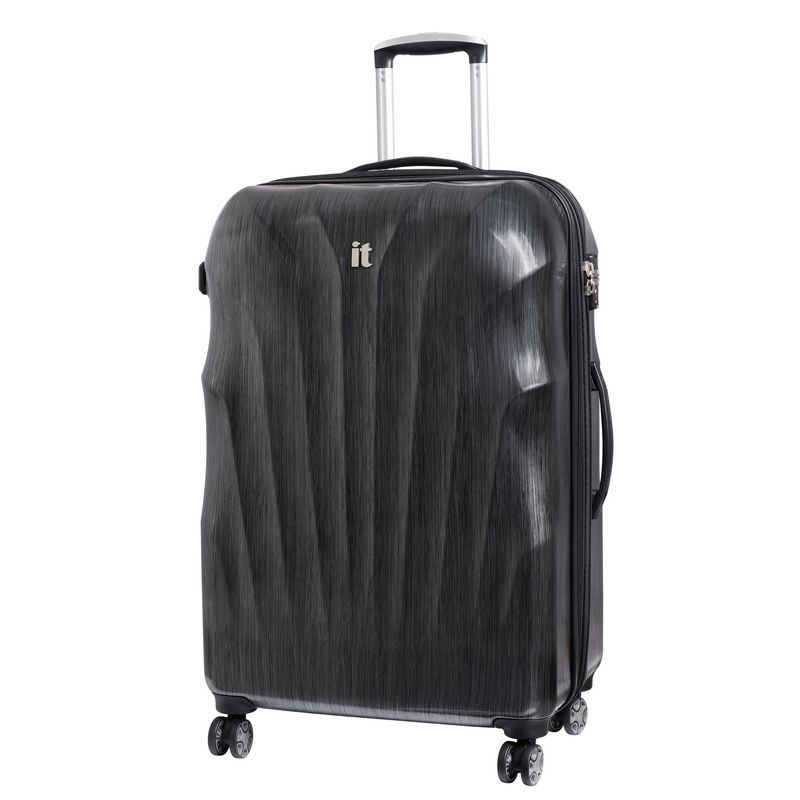 it luggage Charcoal & Black Large Momentum Suitcase