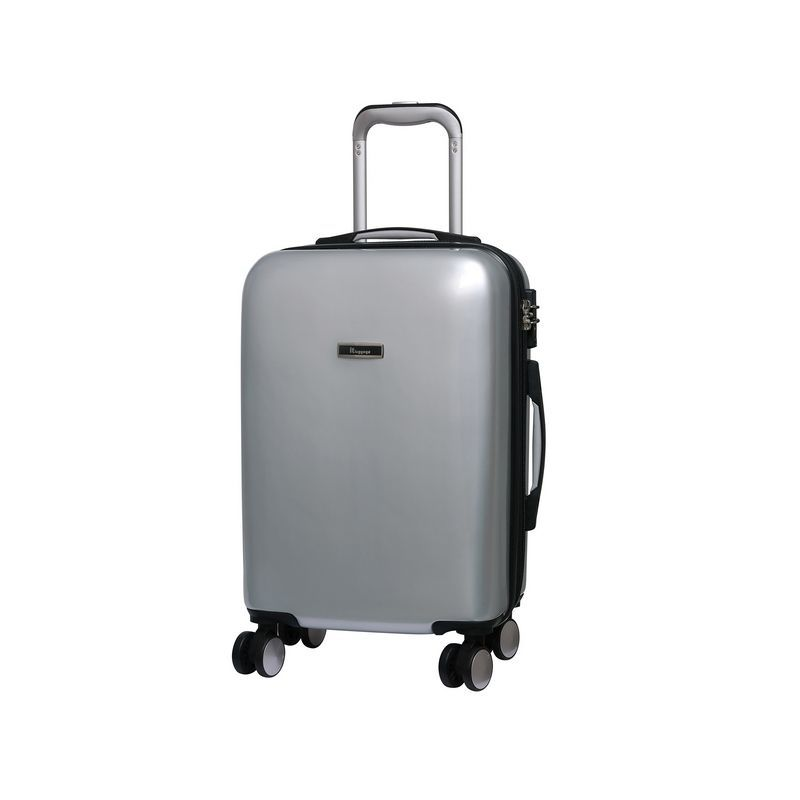 it luggage Metallic Silver Cabin Sheen Suitcase