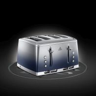 See more information about the Russell Hobbs Eclipse 4 Slot Toaster - Midnight Blue