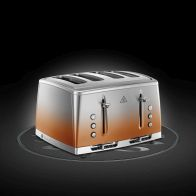 See more information about the Russell Hobbs Eclipse 4 Slot Toaster - Copper Sunset