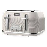 See more information about the Breville Flow 4 Slice Toaster - Cream