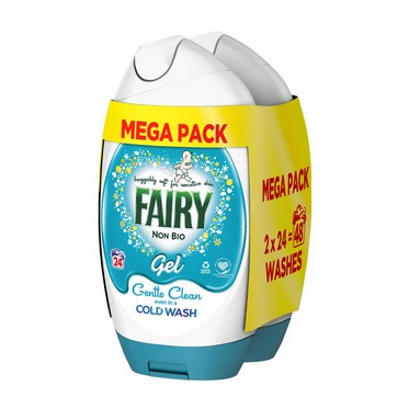 Image of Fairy Washing Gel Non Bio 48 Washes