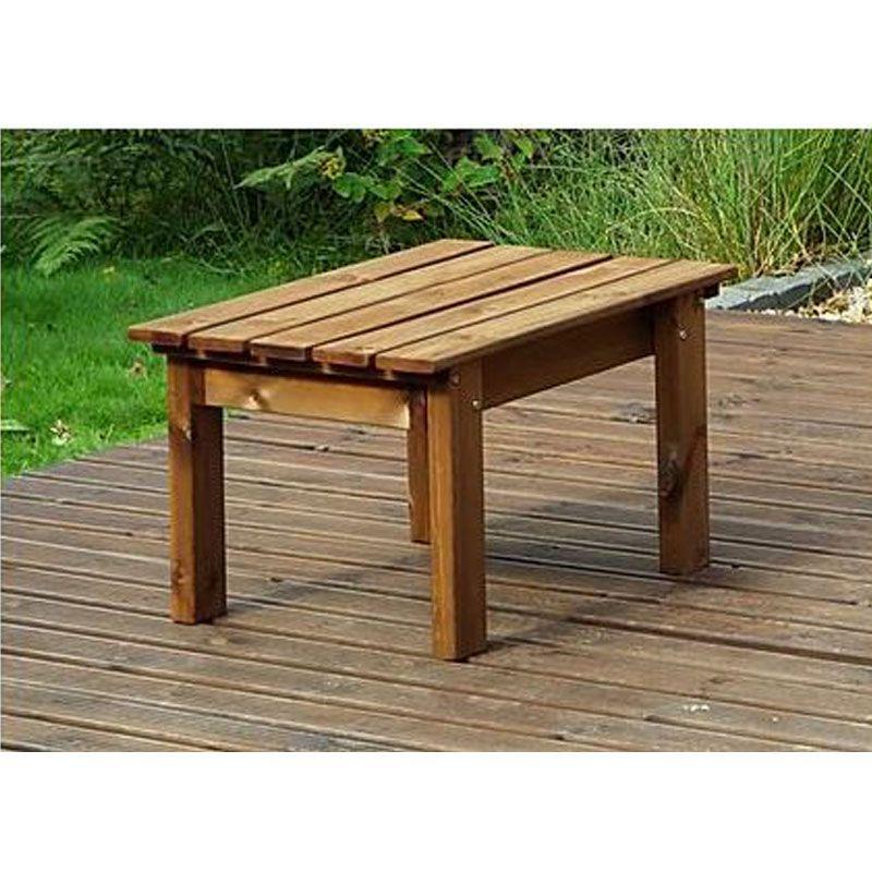 Deluxe Garden Coffee Table Gold Series, Wooden Coffee Table For Garden