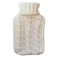 See more information about the Hamilton McBride Knitted Hot Water Bottle Cream