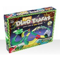 See more information about the Dinosaur Race Car Track Flexible 240 Pieces