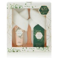 See more information about the Botanique Spa Luxury Slipper Gift Set
