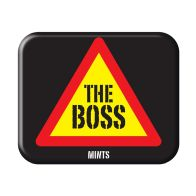 See more information about the Novelty The Boss Mints Tin
