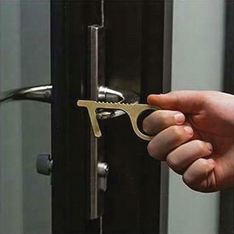 Touch-Free Non Contact Door Opening Key Tool