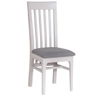See more information about the Necton Oak Dove Grey Dining Chair