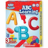 See more information about the Kiddy Dough Abc Learning Activity Set