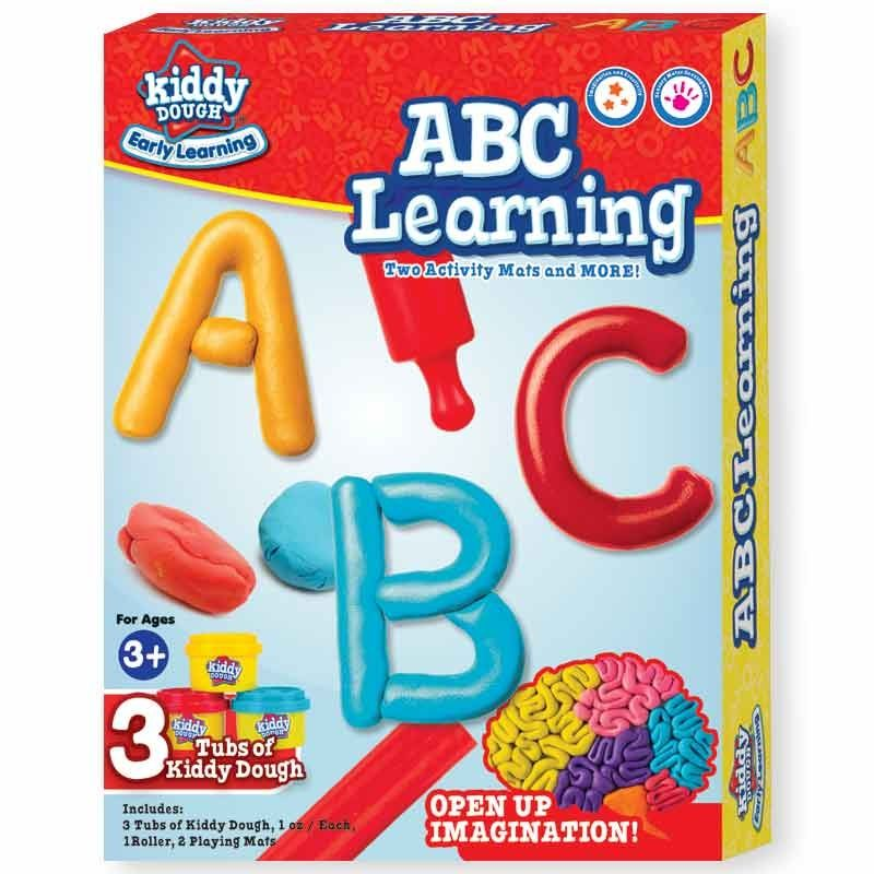 Kiddy Dough Abc Learning Activity Set