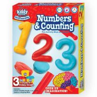 See more information about the Kiddy Dough Number & Counting Activity Set