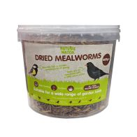 See more information about the Nature Watch Dried Mealworms 400g