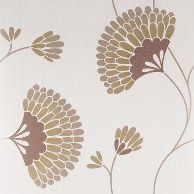 Graham & Brown Wallpaper Charm Chocolate