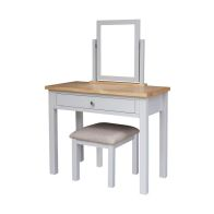 See more information about the Lucerne Oak Grey 1 Drawer Dressing Table