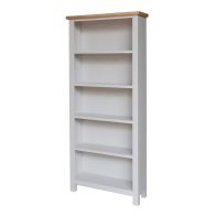 See more information about the Lucerne Oak Grey Large Bookcase