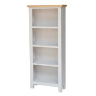 See more information about the Lucerne Oak Grey Bookcase