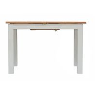 See more information about the Lucerne Oak Grey 1.65-1.2m Extending Dining Table