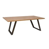See more information about the Scandi Oak 1.8M Fixed Top Dining Table