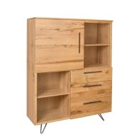 See more information about the Scandi Oak Large Bookcase