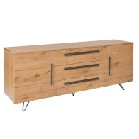 See more information about the Scandi Oak 2 Door 2 Drawer Sideboard