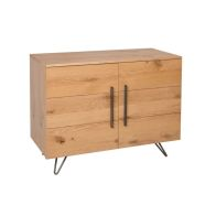 See more information about the Scandi Oak 2 Door Sideboard