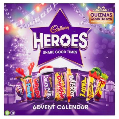 Cadbury Heroes Premium Advent Calendar