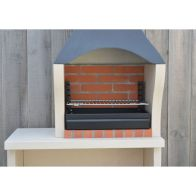 See more information about the Firenze Charcoal Barbecue with Side Table H195cm x W95cm