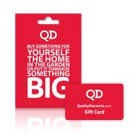 See more information about the QD Gift Card £5 to £250 (Redeemable Online or Instore)