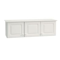 See more information about the 3 Door White Contemporary Overhead Storage Top Box