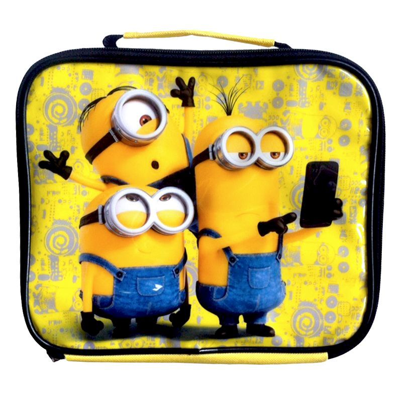 Minions Thermal Lunch Bag
