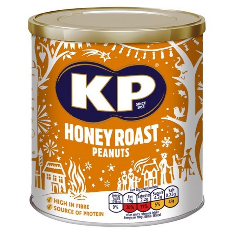 KP Honey Roasted Peanuts 375g