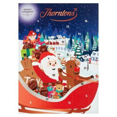 Thorntons Children Santa Advent Calendar
