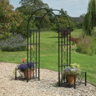 See more information about the Huntingdon Garden Arch & Planters