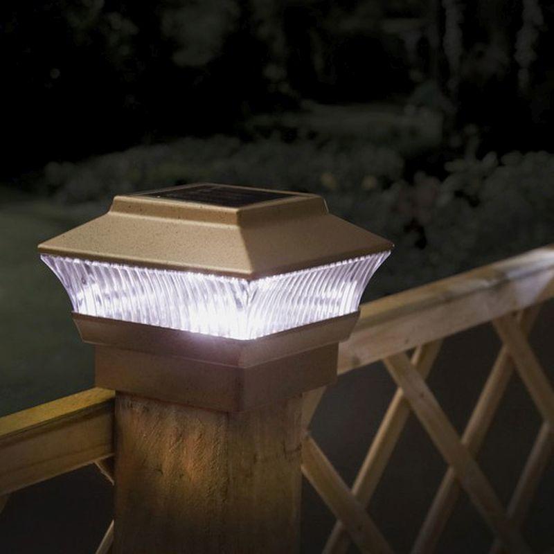 Solar Post Garden Lights 2 Pack Buy Online At Qd Stores