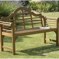 See more information about the Lutyens Style Garden Bench Natural