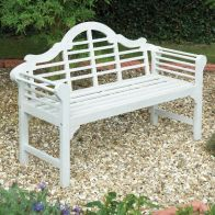 See more information about the Lutyens Style Garden Bench White