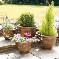See more information about the Wenlock Garden Planters Bronze 4 Pack