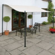 See more information about the Greenhurst 3 x 2.5m Wall Mounted Garden Gazebo