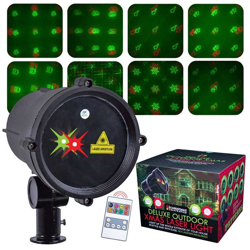 Moving Christmas Outdoor Laser Lights With Timer
