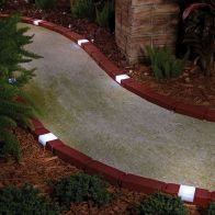 See more information about the Brick Style Garden Edging Set 10 Pack With Solar Lights