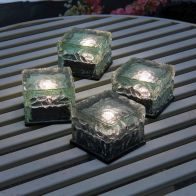 See more information about the LED Ice Cube Solar Garden Lights 4 Pack