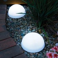 See more information about the LED Dome Solar Garden Lights 2 Pack