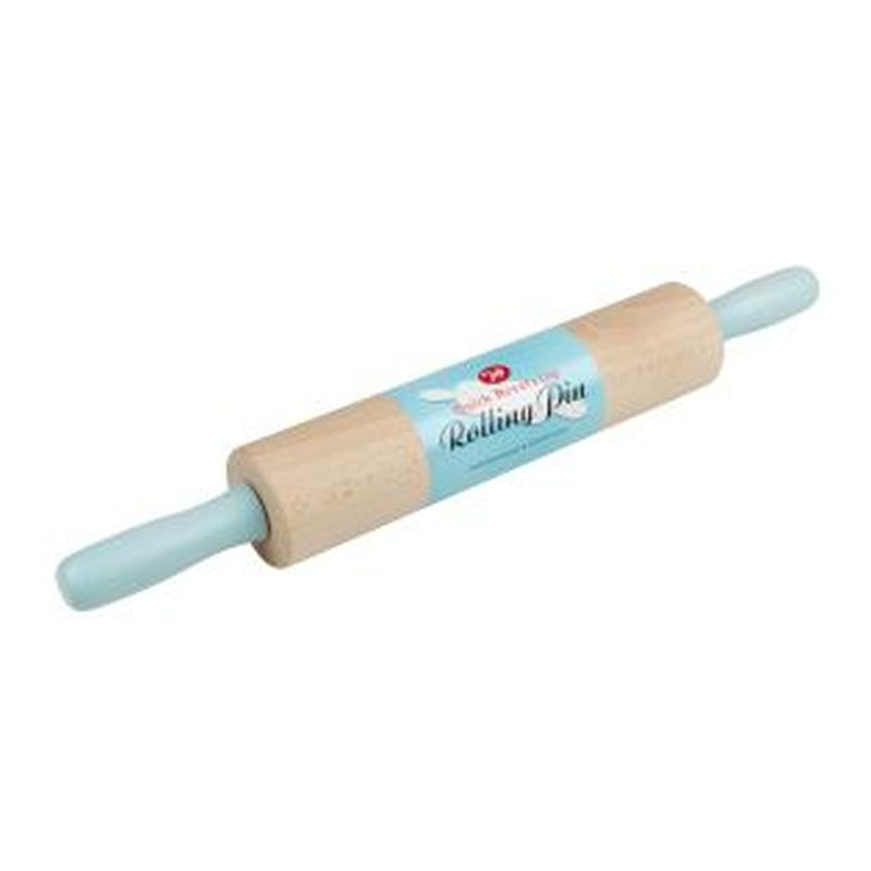 Tala Coloured Revolving Rolling Pin Blue